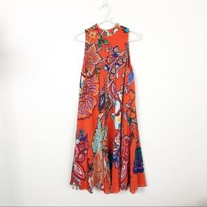 Anthro Maeve Larkhill Swing Dress Sz S